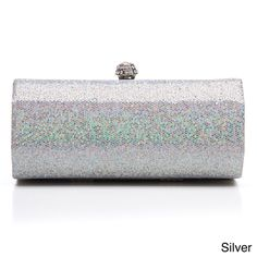 J. Furmani Women's Sequin Embellished Hardcase Clutch - Overstock™ Shopping - Great Deals on J. Furmani Clutches & Evening Bags