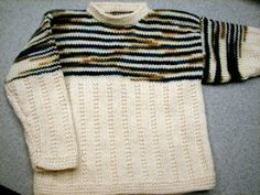 Free Knitting Pattern - Toddler & Children's Clothes: Seaside Sweater