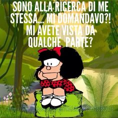 Mafalda and more… Italian Humor, Dont Forget To Smile, Don't Forget, Feelings Words, Mood Quotes, Vignettes, Funny Quotes, Thoughts, Peanuts