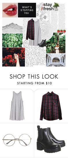 """""""show you love"""" by lucidmoon ❤ liked on Polyvore featuring H&M and Jan Kurtz"""