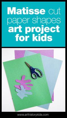 Matisse Art Projects for Kids | Famous Artist Lesson Plans