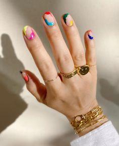 Cute Acrylic Nails, Cute Nails, Pretty Nails, Gel Nails, Nail Polish, Nail Nail, Nail Tech, Minimalist Nails, Nail Art Designs