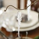 1518 - Istappar   how to make drop bead icicles