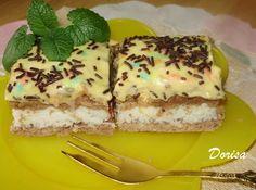 Fotorecept: Kokosovo-pudingový koláč - Výborný kokosový koláčik. Tiramisu, French Toast, Cheesecake, Breakfast, Ethnic Recipes, Food, Basket, Morning Coffee, Cheesecakes