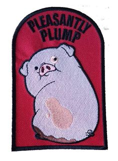 'Pleasantly Plump' Patch