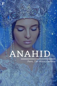 Anahid meaning Pure or The Moon Goddess Armenian names A baby girl names A baby . - Anahid meaning Pure or The Moon Goddess Armenian names A baby girl names A baby Anah - Strong Baby Names, Unique Baby Names, Baby Girl Names, Female Character Names, Female Names, Armenian Names, Moon Goddess, Goddess Meaning, Girl Names With Meaning