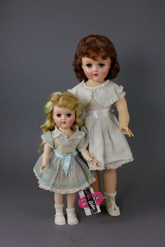 "IDEAL ""TONI"" DOLLS 15""' AND 21"""