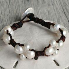 Chloe Leather Bracelets, Beaded Bracelets, Chloe, Jewellery, Pearls, Fashion, Moda, Jewels, Fashion Styles
