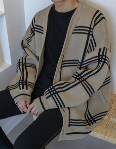 Stylish Mens Outfits, Cute Casual Outfits, Casual Shirts, Grunge Outfits, Fashion Outfits, Fashion Styles, Mode Grunge, Korean Fashion Men, Korean Street Fashion
