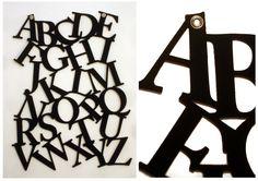 Felt Alphabet Wall Hanging