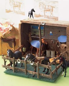 Horse diorama to make with M and Kate