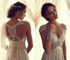antique style wedding dresses - Google Search
