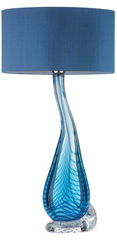 31 Best Blue Glass Lamps Images Blue Glass Lamp Blue Table Lamp