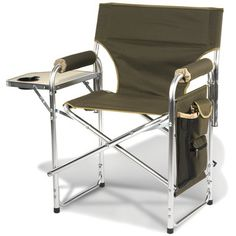 Heated Portable Chair - a must have for tailgates
