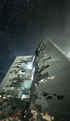 Student Dormitory Creates Human Interaction Through a Figural Void