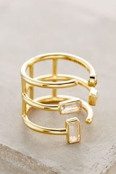 Elizabeth and James Sol Ring Gold 6 Jewelry #anthrofave
