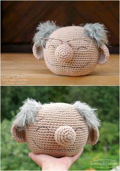 Awesome Crochet Muppet Glasses Holder Patterns - Pondic