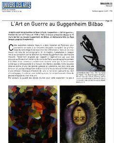 Dubuffet, Guggenheim Bilbao, 2013, Picasso, Arts, France, June, Universe, War