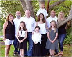 I was very fortunate to be able to photograph this beautiful family. Large Family Photos, Outdoor Photos, Bridesmaid Dresses, Wedding Dresses, Beautiful Family, Photography, Fashion, Bridesmade Dresses, Bride Dresses