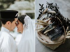 A White and Green Rustic Forest Wedding At Tanah Larwina, Selangor - The Wedding Notebook magazine Our Wedding Day, Wedding Bands, Wedding Reception, Wedding Venues, Wedding Photos, Dream Wedding, Diy Wedding Favors, Wedding Decorations, Rustic Forest Wedding