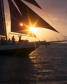 Enjoying a sunset sail.  Photo by Kevin O'Connor, 2013