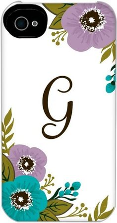 Blooming Cheer - Personalized iPhone Photo Case from Treat.com