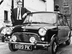 Peter Sellers with His Mini Car, 1963 The Pink Panther