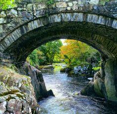 River, bridge, beautiful places