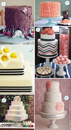 For baby showers...CAKES!