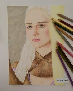 Prismacolor, Game Of Thrones Characters, It Is Finished, Princess Zelda, Drawings, Happy, Pretty, Instagram Posts, Fictional Characters