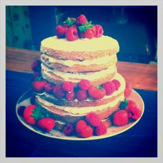 Practise wedding cake