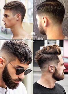 Ideal para quem prefere laterais limpas e versatilidade no penteado.