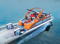 The Manitou Pontoon Boats buying guide lists all of our current models with price, size, and options information. Luxury Pontoon Boats, Yacht Boat, Luxury Boats, Kayak Fishing, Fishing Boats, Saltwater Fishing, Cool Boats, Small Boats, Manitou Pontoon