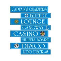 cruise Ship Theme | https://www.cruise-gifts.com/mwa/image/meerinfo/party_cruise_ship_sign ...
