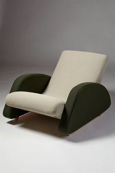 Armchair designed by Bo Wretling for Otto Wretling, Sweden. 1930's. | Modernity