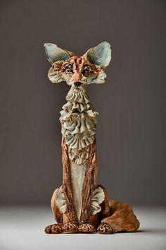 69 Super Ideas For Bird Sculpture Ceramic Sculptures Céramiques, Paper Mache Sculpture, Pottery Sculpture, Bird Sculpture, Pottery Art, Ceramic Sculptures, Abstract Sculpture, Bronze Sculpture, Pottery Animals