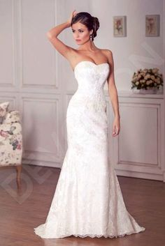 b0a87a5a2f9d3 Ikernia Elegant Tulle Wedding dress White