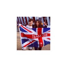 From Our BFFs Louis Tomlinson and Eleanor Calder's Adorable Olympics... ❤ liked on Polyvore