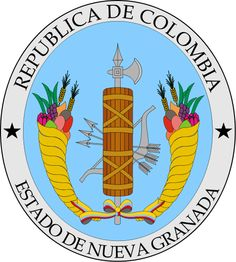 Coat of arms of New Granada (1830) - File:Coat of arms of Colombia.svg - Wikimedia Commons