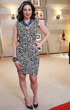 Love it animal with a pop of color dress outfit