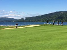 #GolfBoards at Sudden Valley Golf Course in Bellingham, Washington