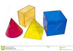Geometrische vormgeving; wiskundig en regelmatig, zoals kubussen, cillinders en bollen.