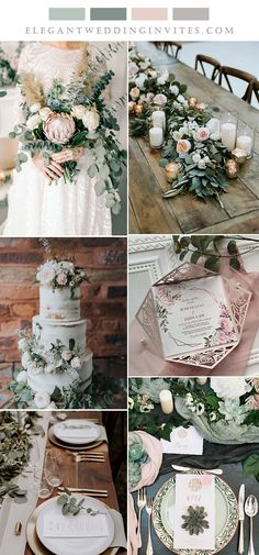 the best sage and blush rustic chic wedding theme themes rustic chic 6 Beautiful Wedding Colors with Neutral Sage Green & Matching Invitations Olive Green Weddings, Olive Wedding, Emerald Green Weddings, Sage Green Wedding, Wedding Ideas Green, Blush Wedding Theme, Dusty Rose Wedding, Pink Wedding Invitations, Chic Wedding