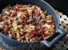 Yum... I'd Pinch That!   Unstuffed Cabbage Rolls Ww Recipes, Low Carb Recipes, Cooking Recipes, Healthy Recipes, Recipies, Simply Recipes, Healthy Food, Skinny Recipes, Cookbook Recipes