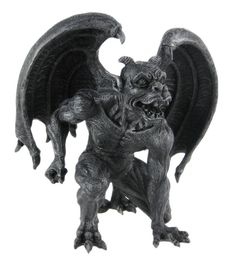 #fantasy Evil Winged Devil Gargoyle Statue Sculpture by Private Label