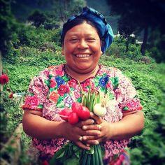 Berta, a Kiva borrower, in Guatemala