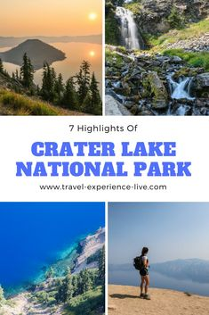 Crater Lake National Park Attractions - 7 Things to Do in Crater Lake National Park From the Rim Drive to hiking and camping to going on Crater Lake boat tours, the numerous Crater Lake National Park attractions will keep you busy for days. Crater Lake Lodge, Crater Lake Oregon, Crater Lake National Park, Oregon Road Trip, Oregon Travel, Road Trips, Oregon Vacation, National Park Posters, Us National Parks