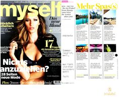 Ligne St Barth in the German Press: Myself - featuring one of our Spa Treatments www.LigneStBarth.com