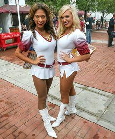Cheerleaders from Week 4 of the 2016 NFL season. Arizona Cardinals Cheerleaders, Redskins Cheerleaders, Cheerleader Pantyhose, Nfl Redskins, Professional Cheerleaders, Nfl Season, Washington Redskins, In Pantyhose, Sports Illustrated