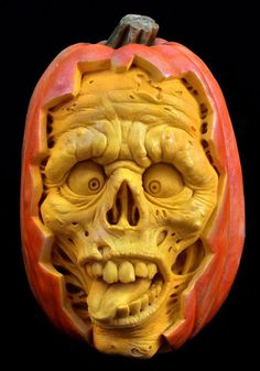 Ray Villafane Studios is home to three incredible artists that specialize in creating the most jaw-dropping pumpkin carvings you have ever seen. Started by Ray Villafane in 2004, he is joined by Andy Bergholtz and Chris Vierra.